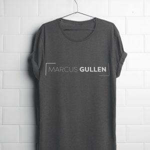 Orlando Musician Marcus Gullen heather gray tshirt.